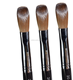 Nail Art Brush Six Angles- Black Petal Wooden Kolinsky Nail Brush