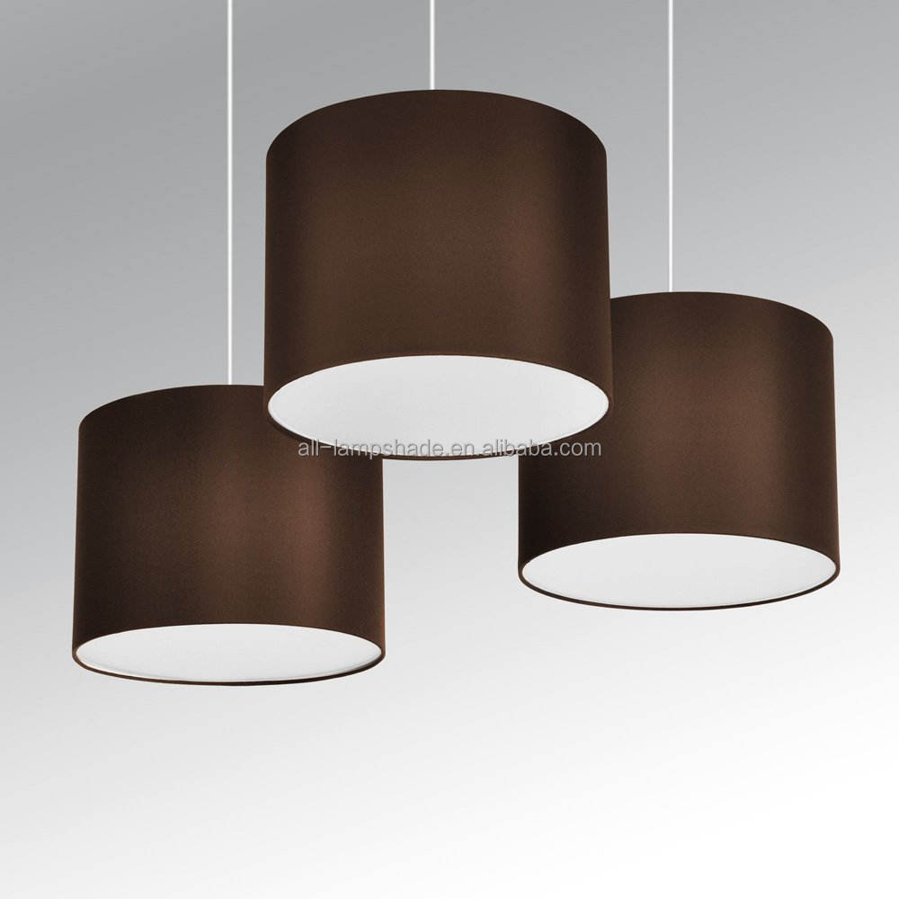 Modern Colors Drum Light Fabric Shades For Pendant Lamp/Table Lamp/Floor Lamp/Chandelier