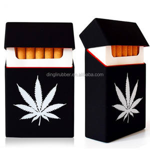 Colorful Silicone Cigarette Case Pack Cover for marlboro