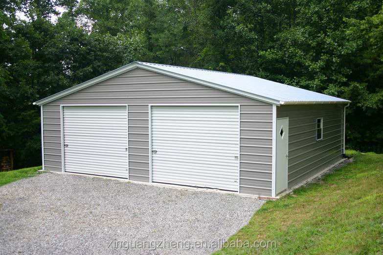 Steel metal garage kits prefab metal garage building car garage design