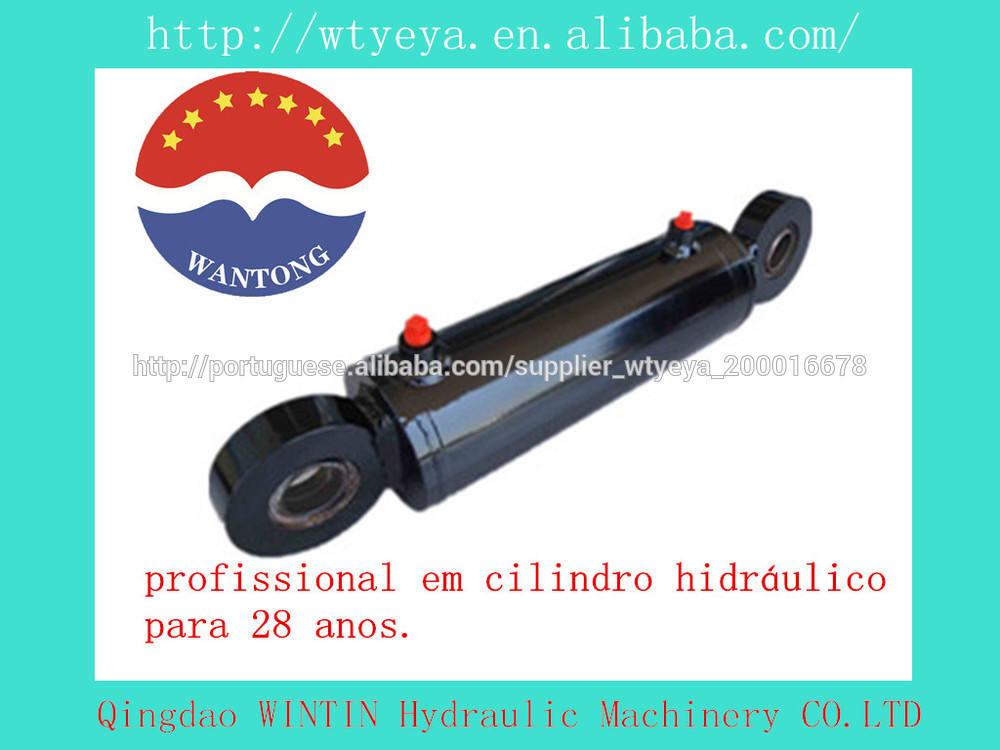 1 '- 5''bore 10' - 80 'golpe 3000psi cilindro hidráulico de acção dupla para o elevador do carro reboque