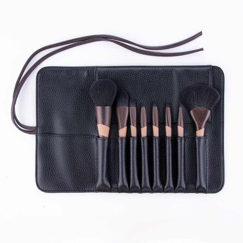 Wholesale Price Brushes Custom Logo 11pcs Soft Synthetic Luxury Brown With Gift Bag Premium Cosmetic Makeup Brush Set In Stock
