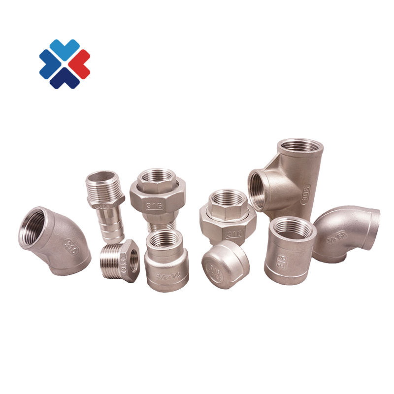 good quality jis/sus 201 stainless steel pipe fittings npt ss316 forged coupling