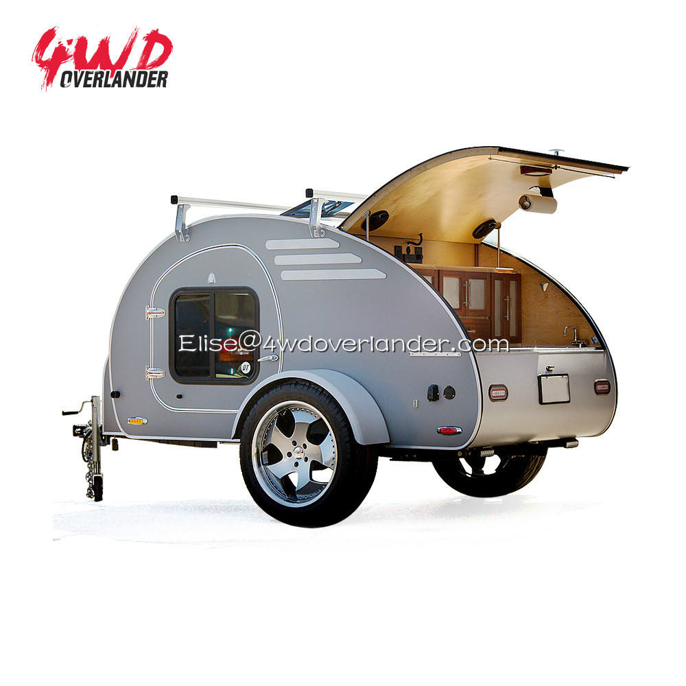 Tiny Mini Off Road Teardrop Du Lịch Camper Trailer Caravan