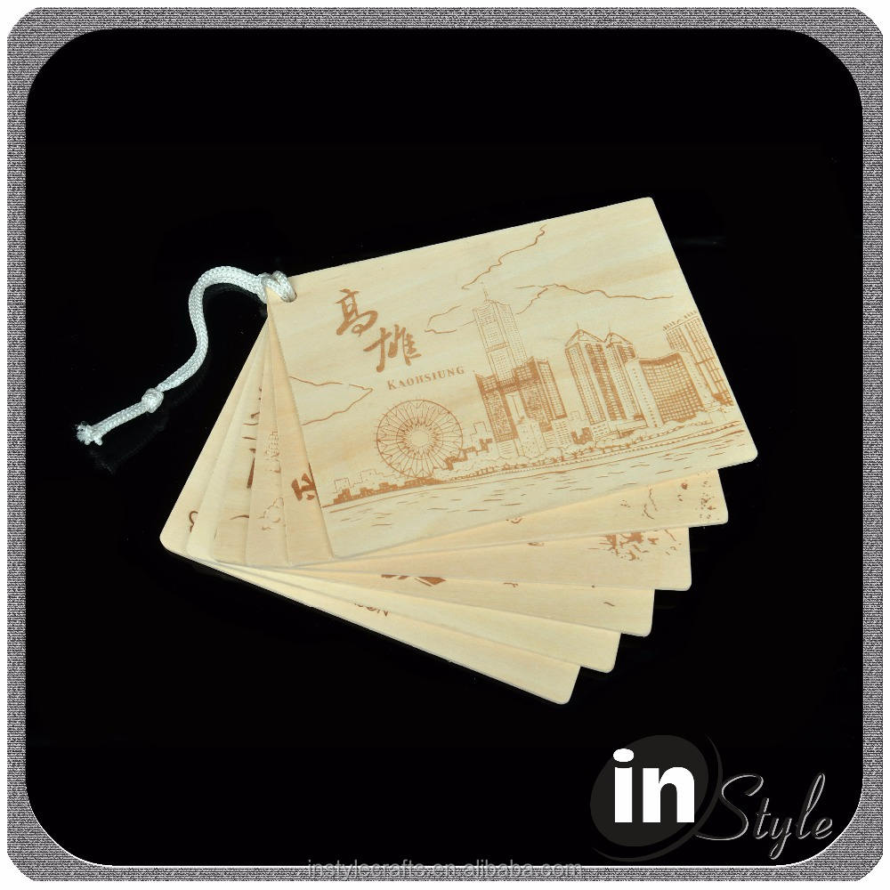 Wooden flourish scrapbooking card craft embellishments, wood veneer label