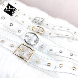 2020 new model wholesale transparent lady belts