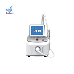 Portable No No SHR OPT Machine Permanent Hair Removal Brown