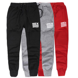 2019 New Custom  Mens Fleece  Pockets Drawstring Waistband Sweatpants