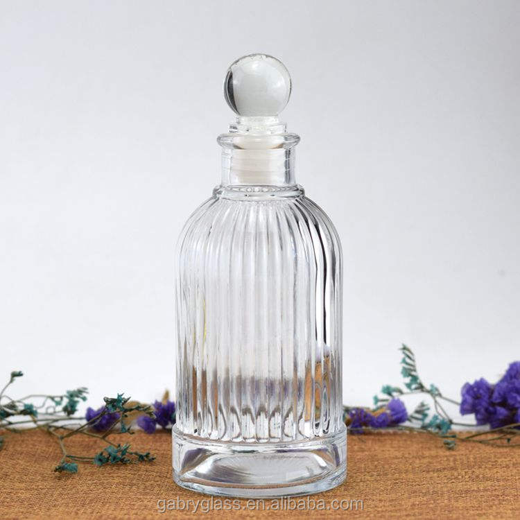 Fabrikant Clear 50 ml 100 ml 200 ml Lege Verpakking Glazen Fles Reed Diffuser Container