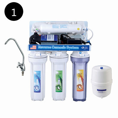 50/75/100 GPD aqua zuiver water filter/5 stadium ro water filter systeem