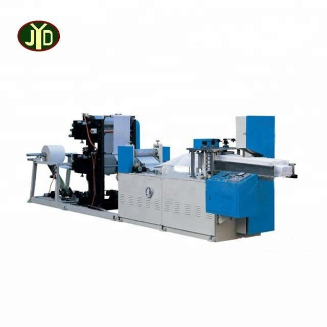 Qinyang factory Advantaged Technology Paper Industrial Automatic Napkin Machine