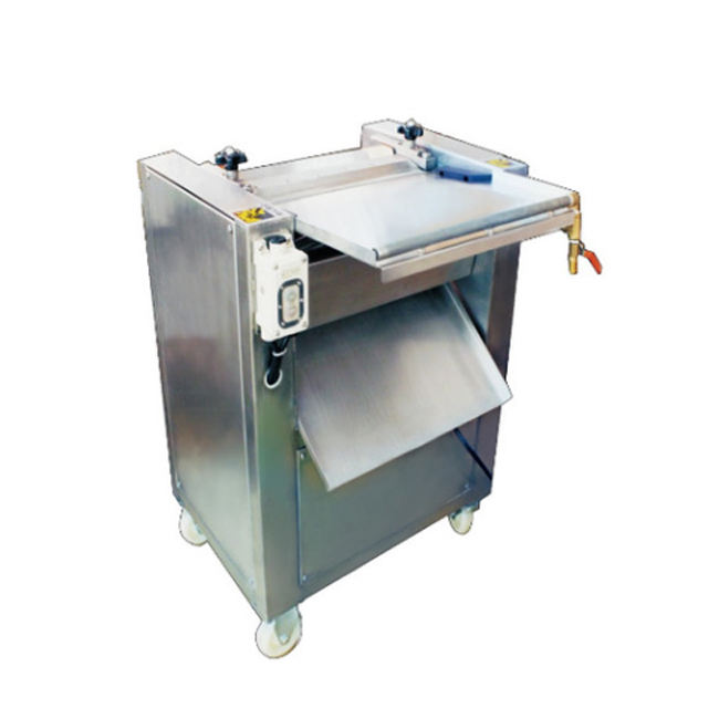 30-50 pcs/min Stainless Steel Electric Salmon Fish Skin Peeling Skinner Skinning Removing Machine