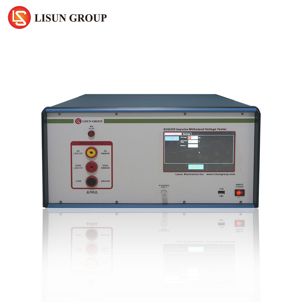 Lisun SUG255 Impluse Sopportare Tester di Tensione con high voltage detector secondo IEC255-5