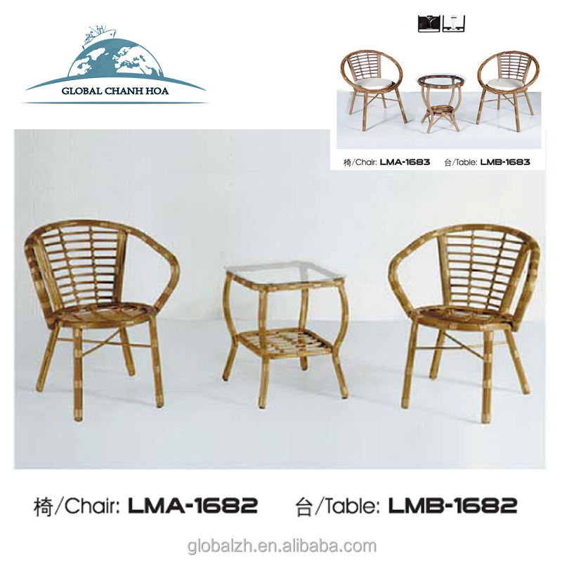 Hot Selling Rattan Outdoor Patio Bamboo Garden Furniture