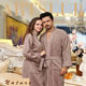 High Quality 100% cotton Hotel Terry thick Bathrobe