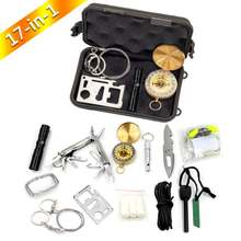 Hot New Products  Outdoor Hiking Camping Backpacking Emergency Survival Kit