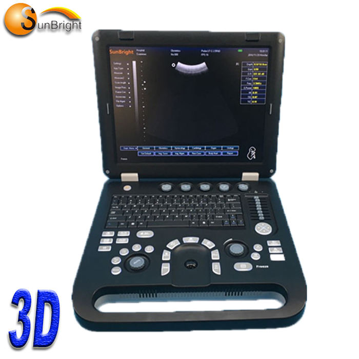 cheap laptop 3d color doppler system portable ultrasound machine echo doppler Sun-800D