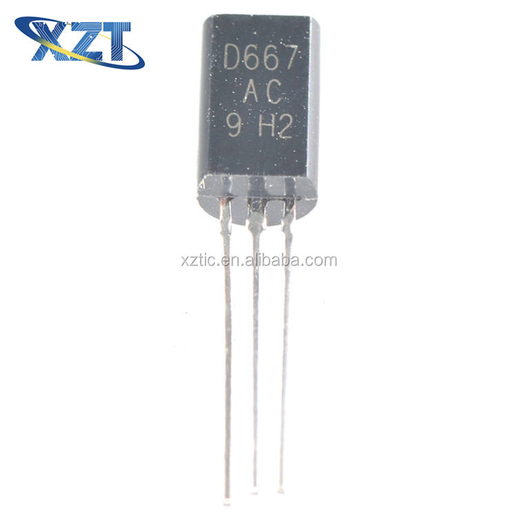 PACK OF 5 2SD667 NPN Transistor