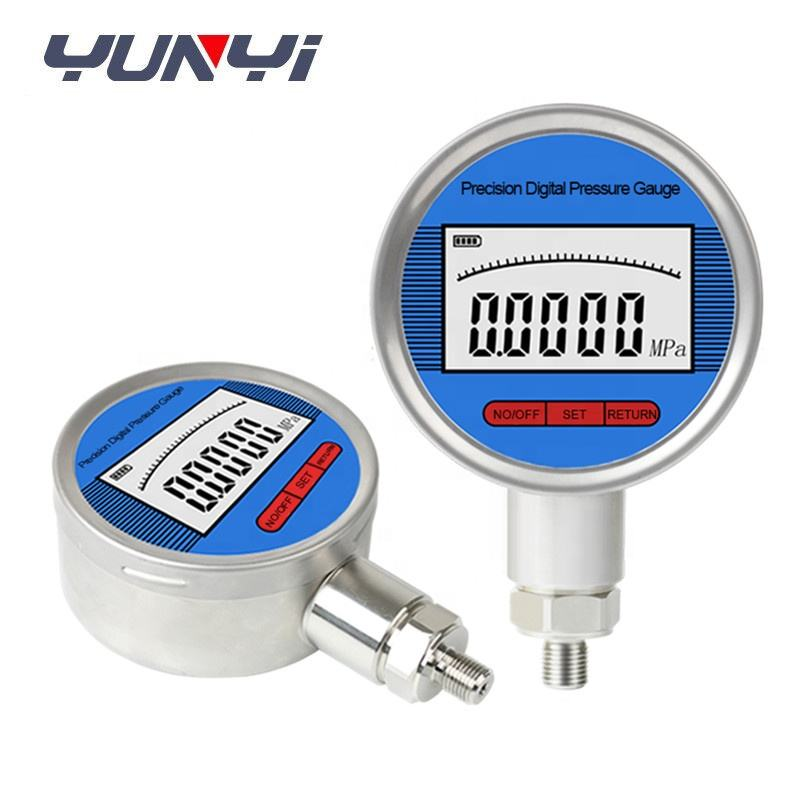 high precision lpg gas digital pressure gauge with data logger