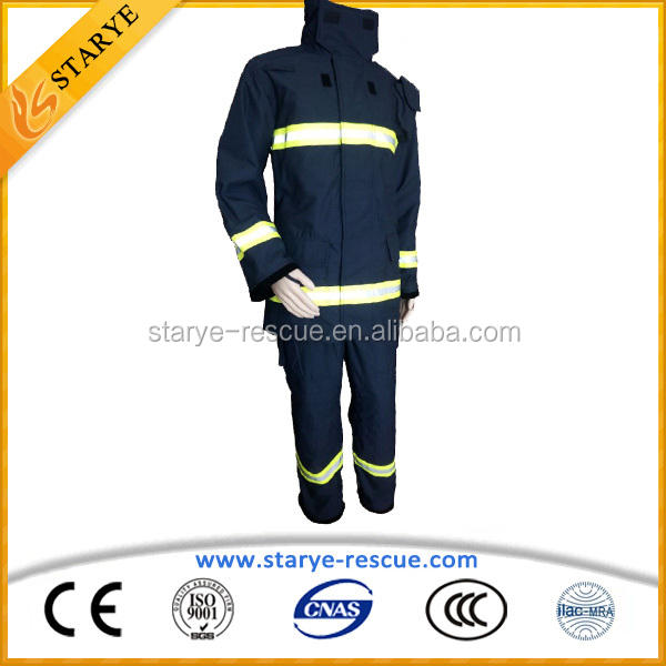 Fire Jacket and Fire Pants One Whole Set of Fire Suit