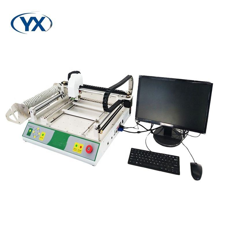 Pick and Place Machine SMT TVM802A-S Used SMT Machine with Guide Rail Built-in Computer and Higand High Voltage Drive TVM802A-S