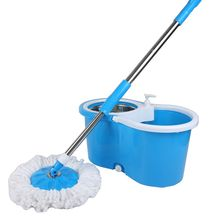360 Rotating Easy Magic  Spinning Floor Mop Kitchen Bathroom Cleaning mop Tool