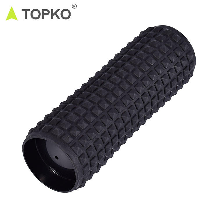 TOPKO new generation high quality inflatable PVC roller air-filled massage roller