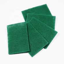 Top Faith abrasive scouring pad kitchen cleaning Green scrubber dish scrubber heavy duty