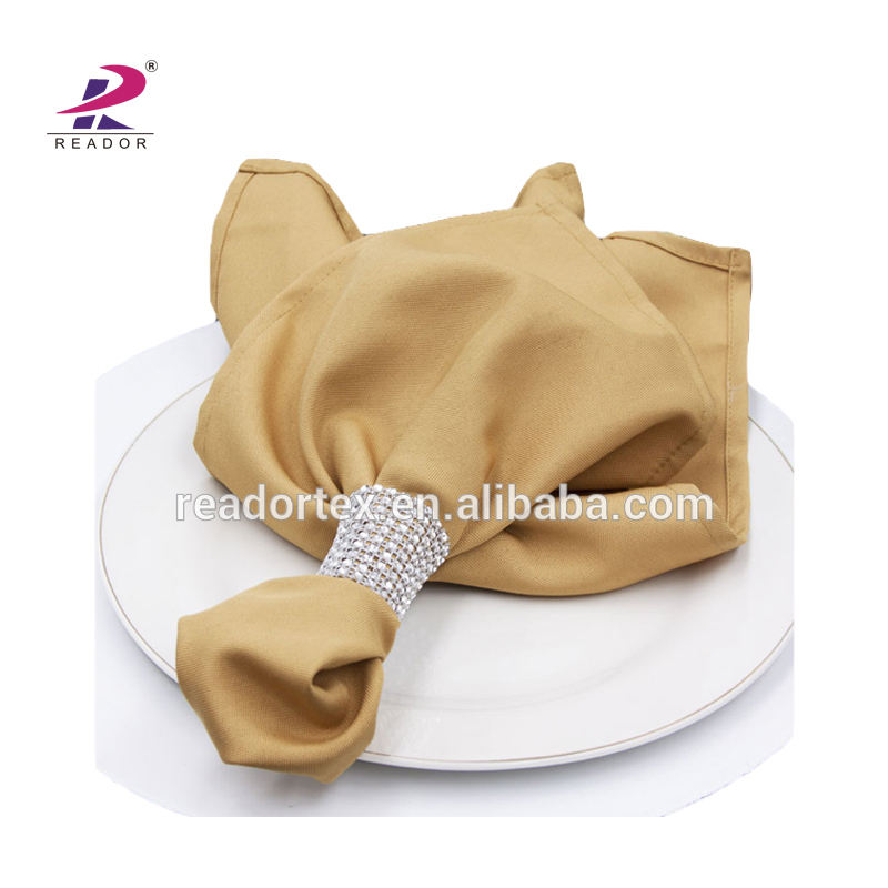 Stock Spun Poly Napkins