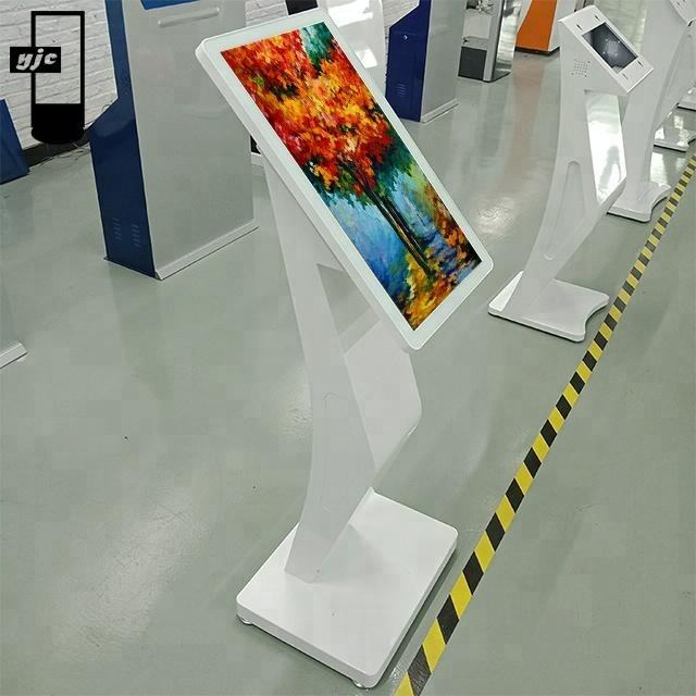 21.5 inch indoor Android customized infrared touch screen android advertising player for school service