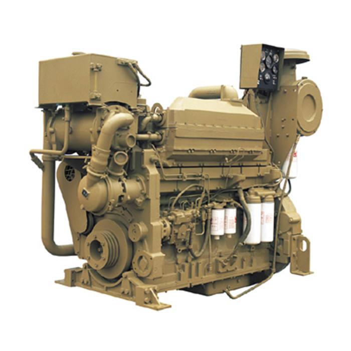 Original 700hp water-cooled 6 cylinders boat use KTA19-M700 Cummins diesel engine for ship