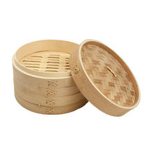 High quality rice cooker 12 inch bamboo kitchenware food steamer