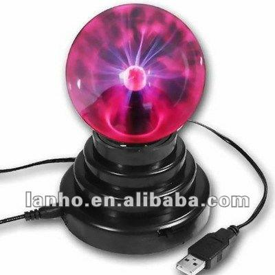"3.5 ""Usb Plasma Ball Sphere Globe Lightning Lamp Licht"