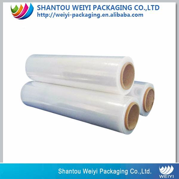 High quality food grade PE / LDPE clear wrap stretch film on roll