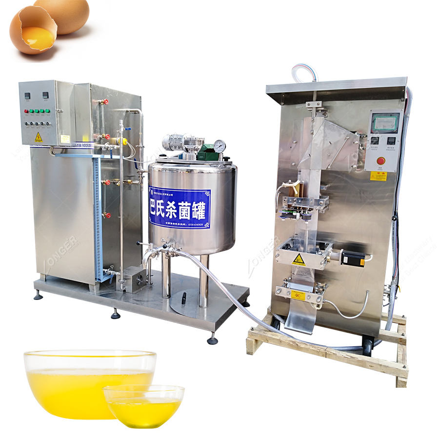 Automatic White Egg Liquid Pasteurization Machine Egg Pasteurizer