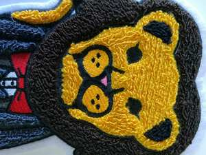 Embroidery Wholesale Custom Chenille Patch Iron On Cheap Chenille Letter Patchs