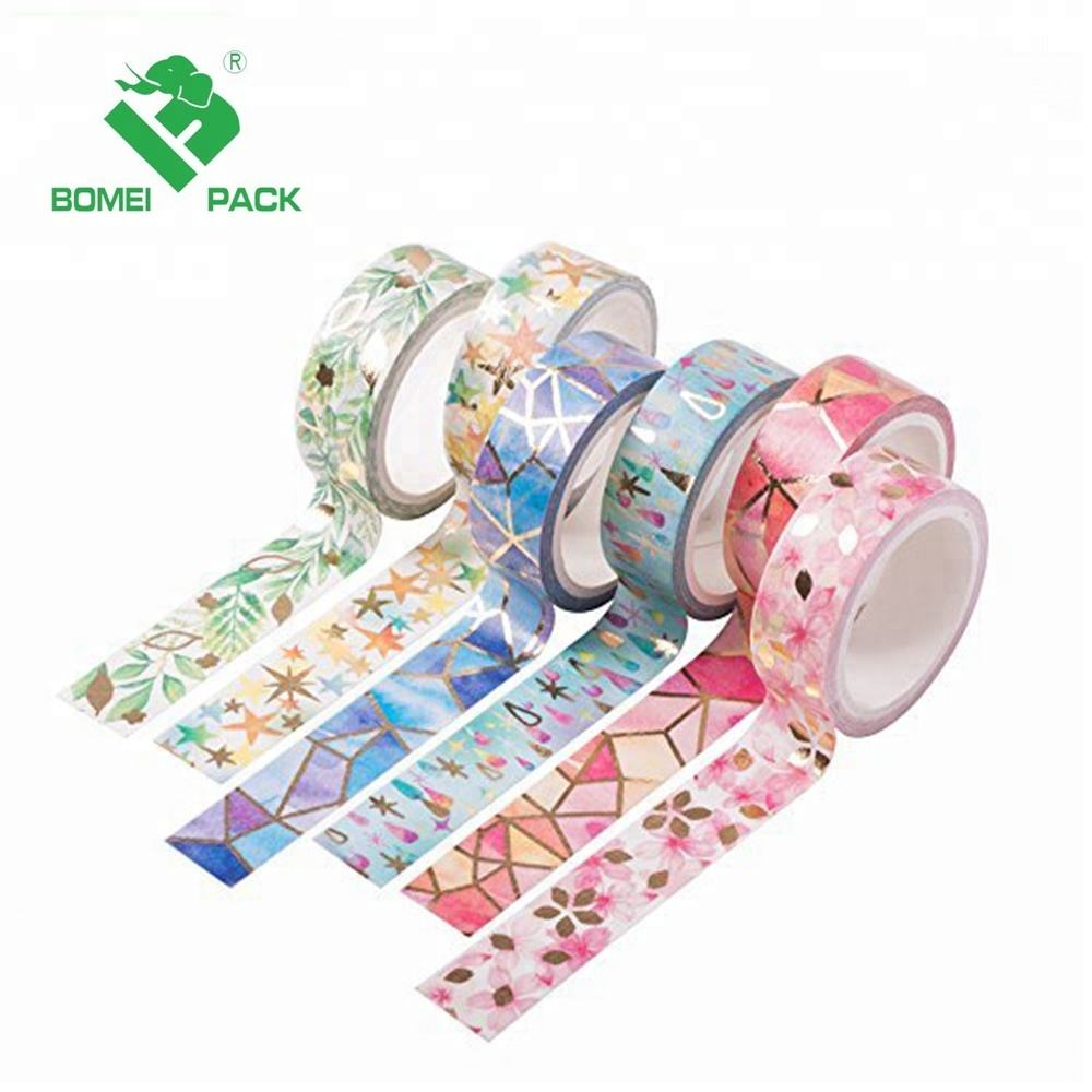15mm x 10m Washy paper Adhesive Sticker Decorative Tape Foil tape