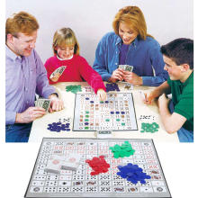 English & Arabic Version Sequence Board Game Family Party Games for 2-12 Players