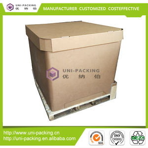 1000l IBC Tank Liquid Package Paper IBC tote Container