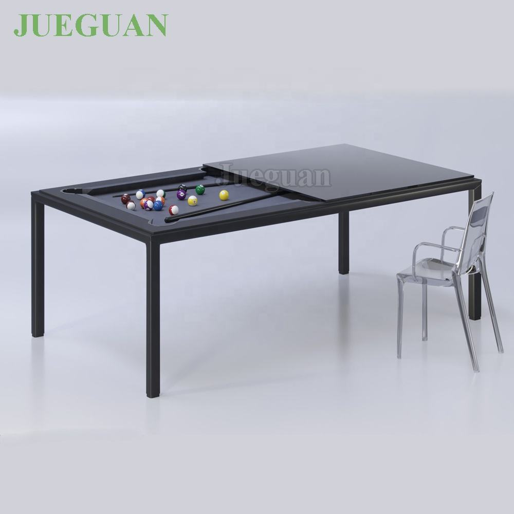 Büro 6ft mini metall esszimmer billard pool tisch mit umwandlung top