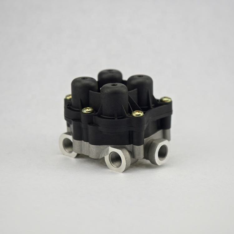 Factory Manufacturer Quality Bus Air Brake Valve Parts Four Circuit Protection Valve for Neoplan Bus AE4612