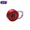 AJF Rotary Padlock Door Lock Suitcase Code Lock Round Dial Number Padlock Zinc Alloy Combination Travel Luggage