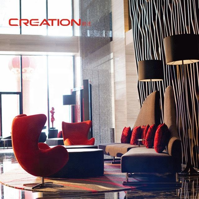 Modern new design custom made hotel lobby furniture set
