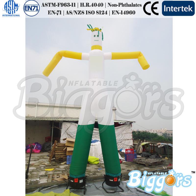 bailarines inflables del aire inflable del viento el hombre bailarín del aire con ventilador