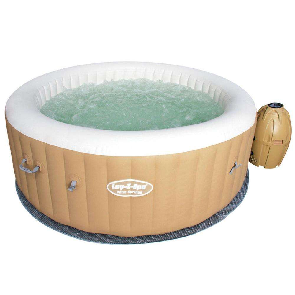 Bestway 54129 <span class=keywords><strong>Jacuzzi</strong></span> Palm Springs Hydrojet Extérieur mini jazzy piscine <span class=keywords><strong>spa</strong></span> gonflable adulte baignoire <span class=keywords><strong>Jacuzzi</strong></span>