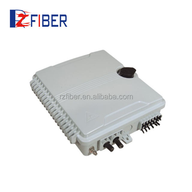 China Suppliers FTTH Waterproof Fiber Optic 12 Cores Distribution Nap Box Outdoor Fiber Termination Boxes Price