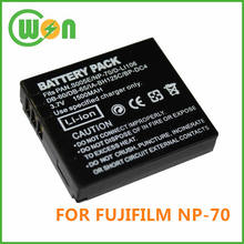 Brand new replacement battery for fujifilm camera battery FINEPIX NP-70 NP70
