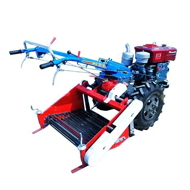 High efficiency farm machinery 4U series potato onion root crops harvester digger
