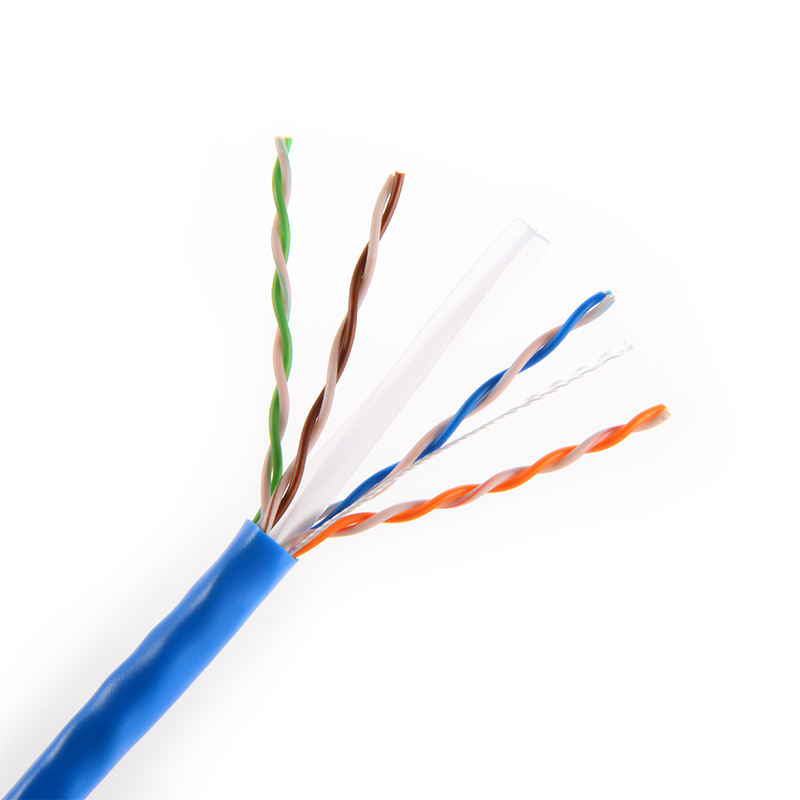 CAT6 Cable 4 par 24 AWG UTP WT de cobre puro de red Ethernet de Cable