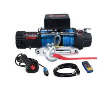synthetic rope 12000lbs electric winches super quality
